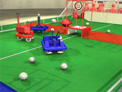 Robots may score from anywhere